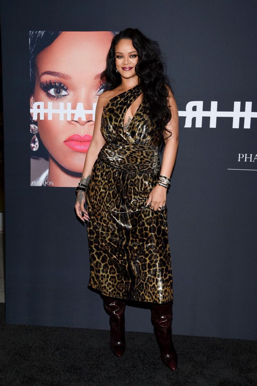 Rihanna at Rihanna Book Launch Event in New York City