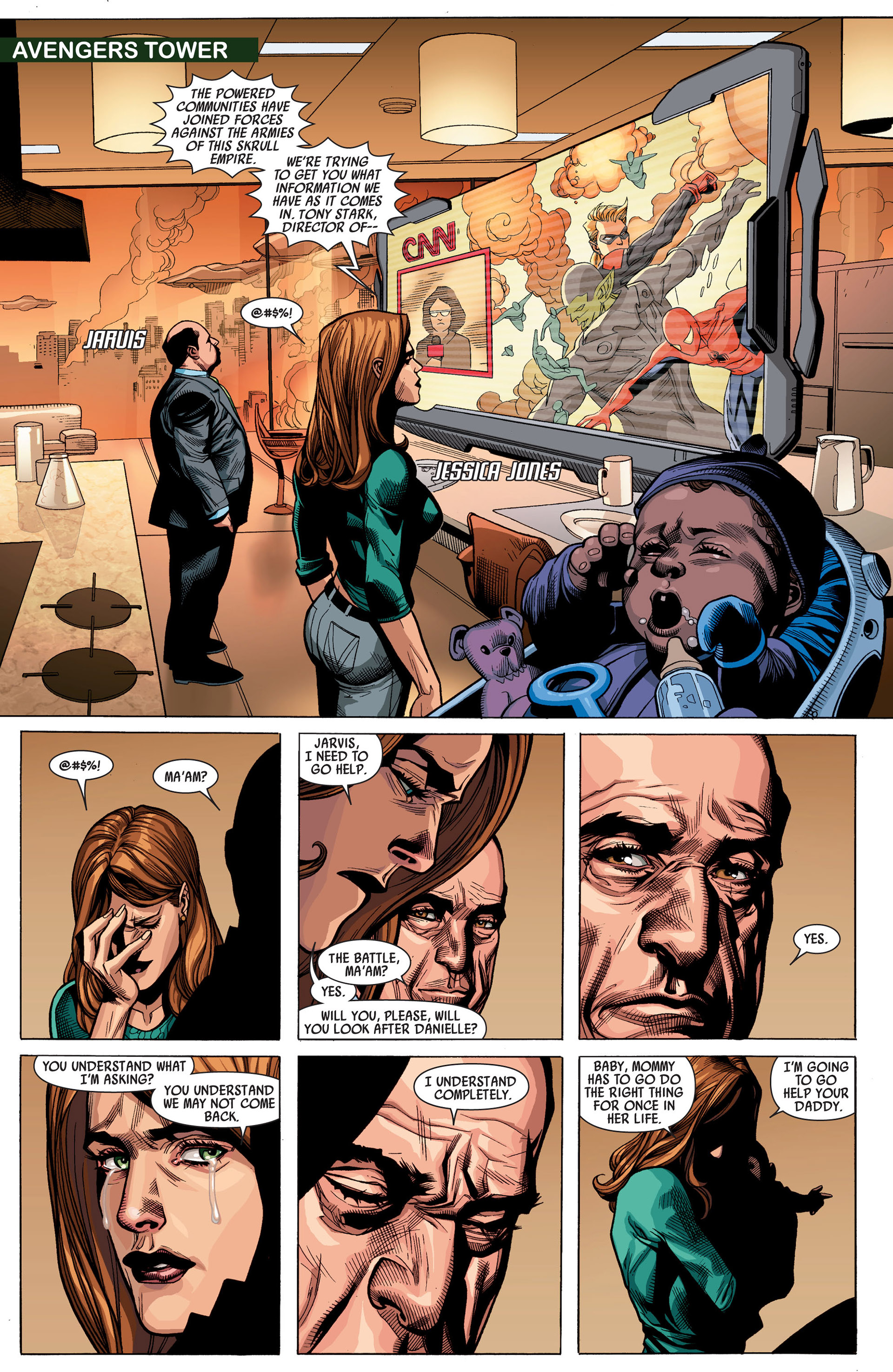 Read online Secret Invasion comic -  Issue #7 - 14