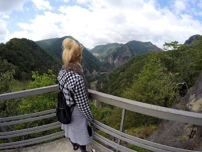 Widok z zamku Poienari