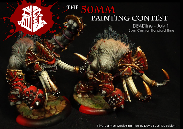 Warmachine Hordes Painting - The 50mm Painting Contestphoto