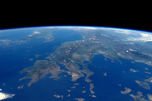 Η Ελλάδα όπως φαίνεται από τον Διεθνή Διαστημικό Σταθμό της NASA. (15 ΑΠΡΙΛΙΟΥ 2016)