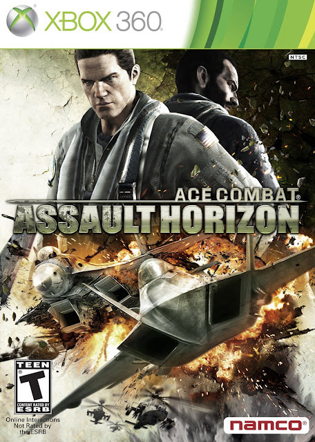 Ace Combat Assault Horizon - Xbox 360 - Portada