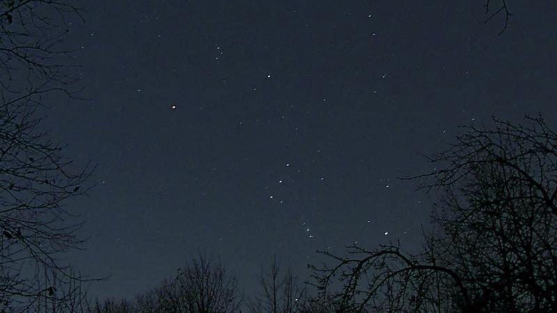 Зимние звёзды в начале ноября | галерея Андрея Климковского