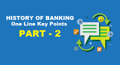 History of Banking in India - Key Points