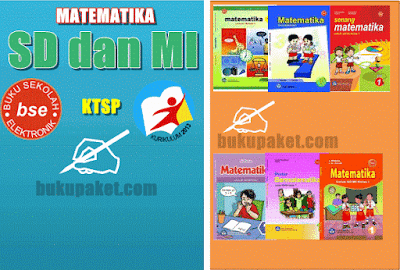 cover buku matematika sd dan mi