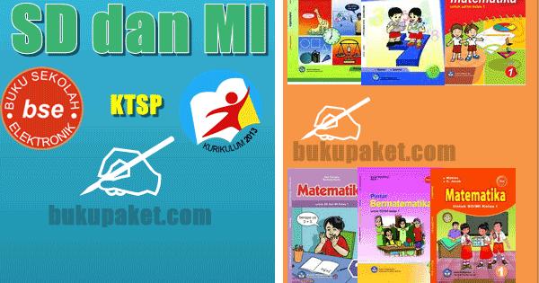 Download Kumpulan Buku Paket Sd Mi Matematika Terbaru