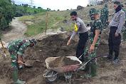 TNI dan Polri Bersinergi Sukseskan TMMD Ke-108 di Jeneponto
