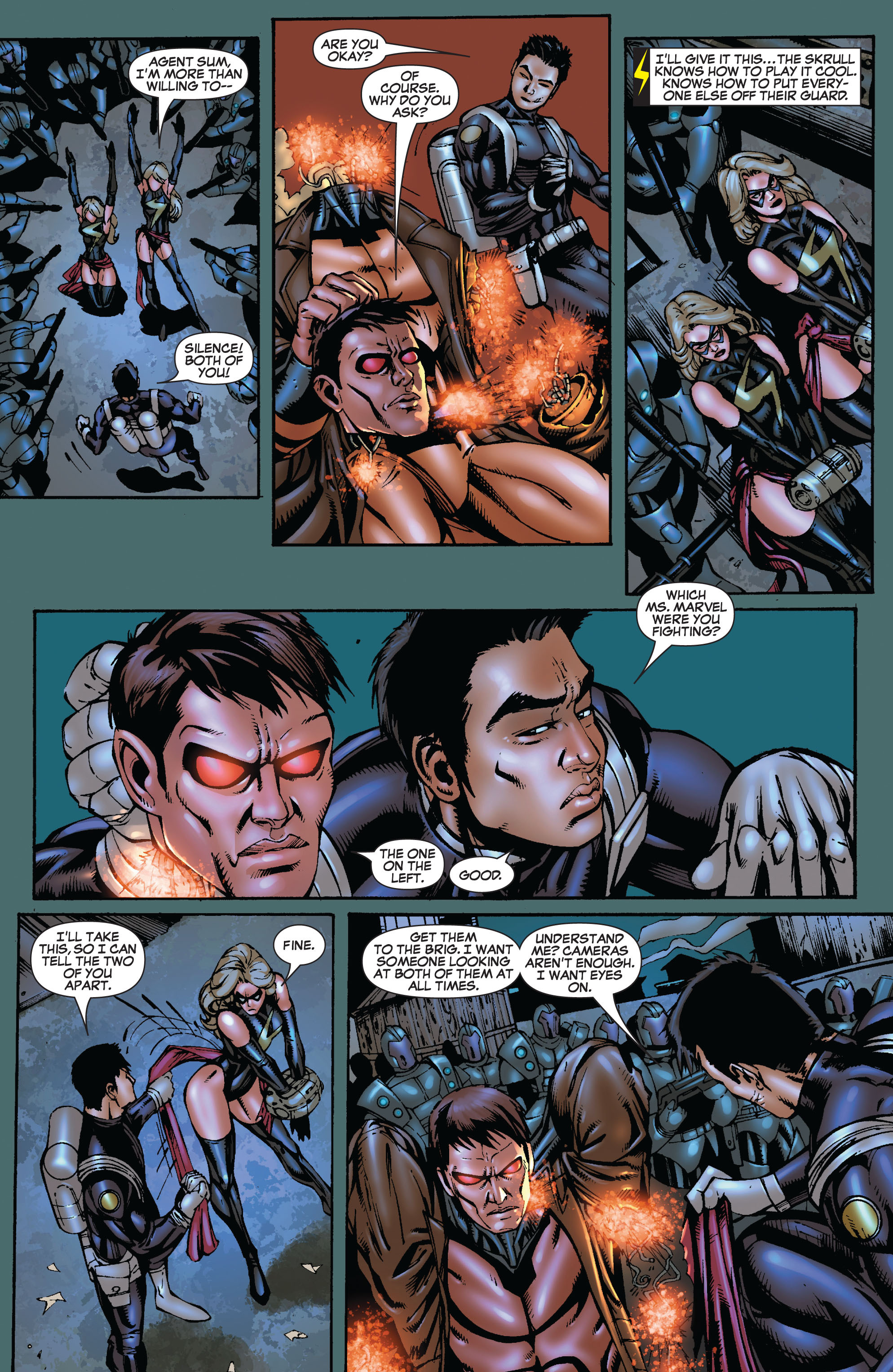 Read online Secret Invasion: The Infiltration comic -  Issue #9 - 14