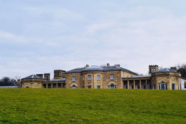 Heaton Hall at Heaton Park Manchester