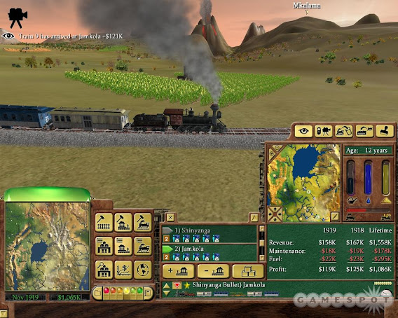 Railroad Tycoon 3 ScreenShot 02