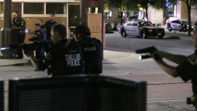 Dallas shooting: Five police officers killed, six injured