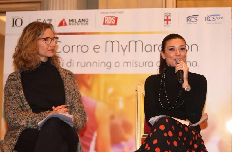 IO Corro e MyMARATHON, i progetti running a misura di donna - Ph Lapresse - Alcuni momenti della presentazione