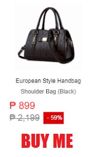 European Style Handbag Shoulder Bag
