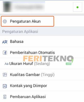 cara menonaktifkan akun facebook 2