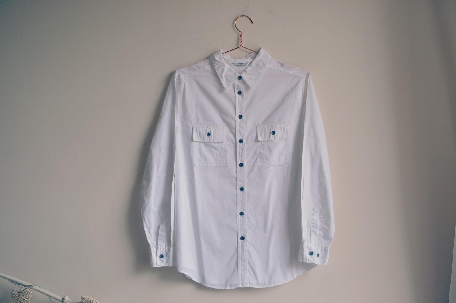 vintage white shirt