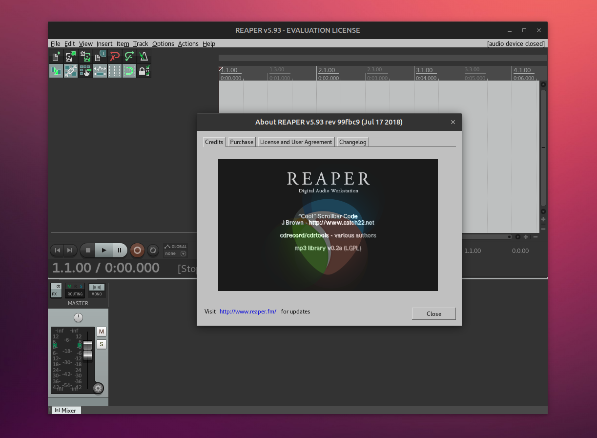 Digital Audio Workstation REAPER Adds Experimental Native