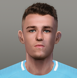 PES 6 Faces Phil Foden by Jerson Facemaker