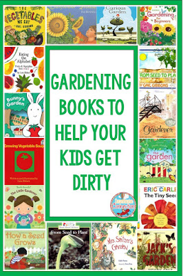 Combat Spring Fever with these Engaging and Motivating Kid Friendly Themes. Use this booklist to help you prepare for a Gardening Theme.