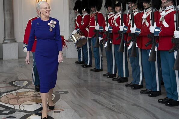 Queen Margrethe received new ambassadors from Estonia, Cuba, Iran and Afghanistan at Amalienborg Palace