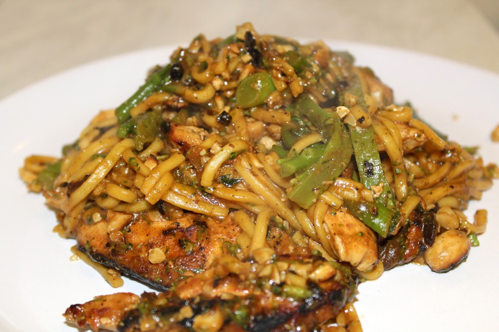 Review   Jamie Oliver 5 Ingredients - Quick & Easy Food Chicken Noodle Stir Fry