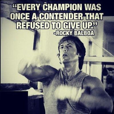 Train Hard Motivation Quotes