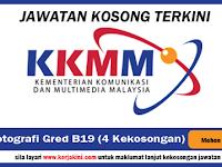 Jawatan Kosong di Kementerian Komunikasi dan Multimedia Malaysia