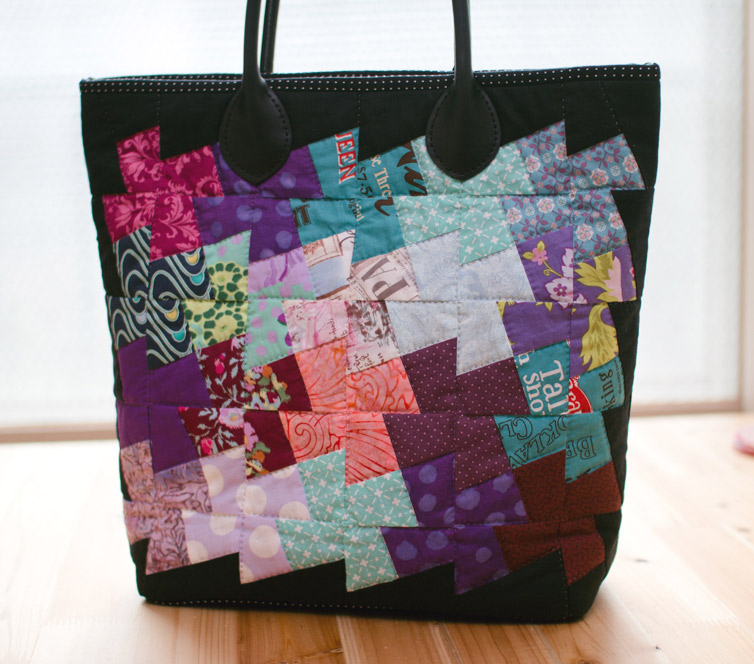 Patchwork Bag. DIY step-by-step tutorial.Пошив сумки в технике пэчворк.