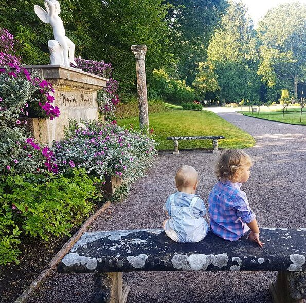Prince Carl Philip and Princess Sofia shared a photo showing together Prince Alexander and Prince Gabriel