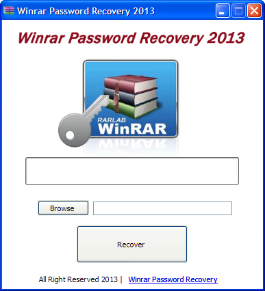 Winrar password recovery 2013 Download free