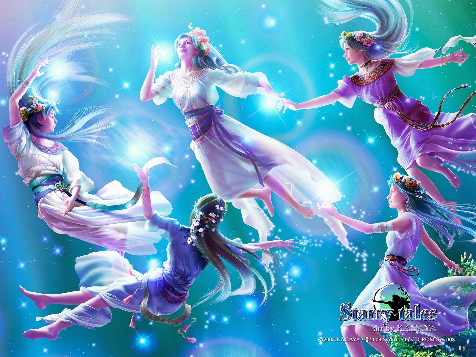 Thời cổ đại, người ta đã tưởng tượng ra các hình ảnh từ việc nối các ngôi  sao sáng lại với nhau, tạo thành các chòm sao trên bầu trời.