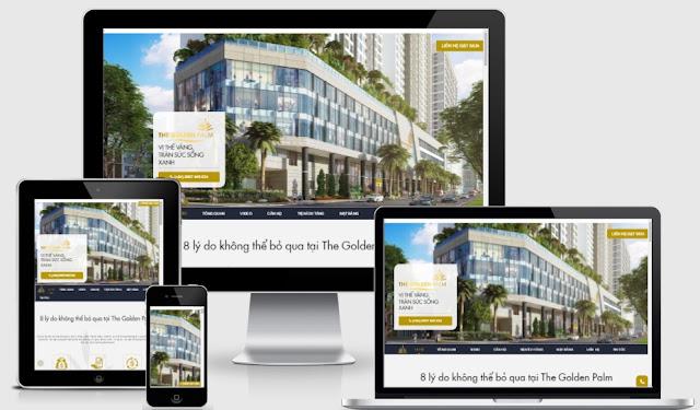 Template blogspot bất động sản chuyên nghiệp chuẩn seo 2017