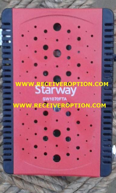STARWAY SW1070FTA HD RECEIVER BISS KEY OPTION