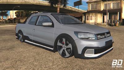 Download, mod, carro, pickup, VW, Saveiro, G7, Cross, CD,  GTA San Andreas, GAME, PC
