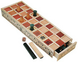 Ancient Egyptian Board Game called Senet
