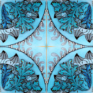 DIVA Challenge #330 with Patterns: Icanthis, Sand Swirl, Flux, Fescu and some Black Mountains