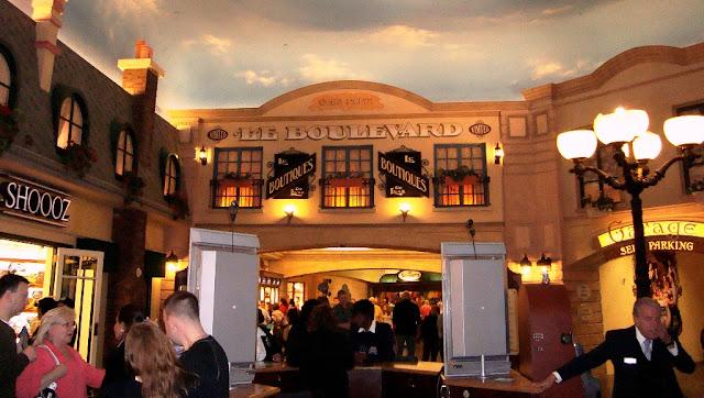 Shopping Le boulevard Paris Las Vegas