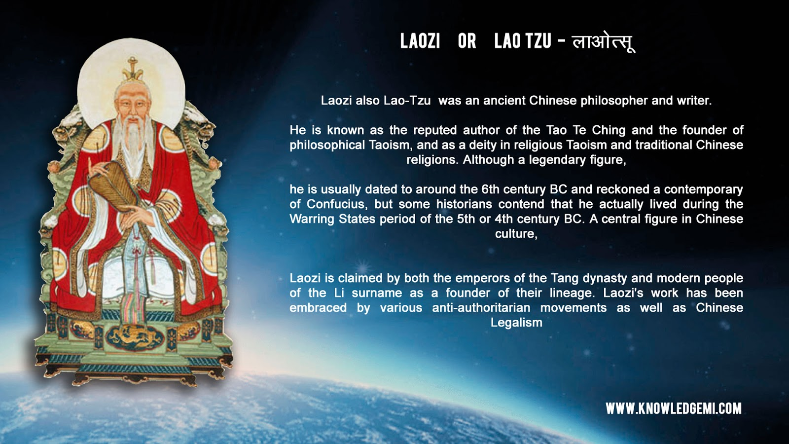 an overview of taoism a philosophical and religious tradition of ancient china Of taoism upon chinese thought, religion, art, culture and society will also be covered course format and prerequisites this course is a.