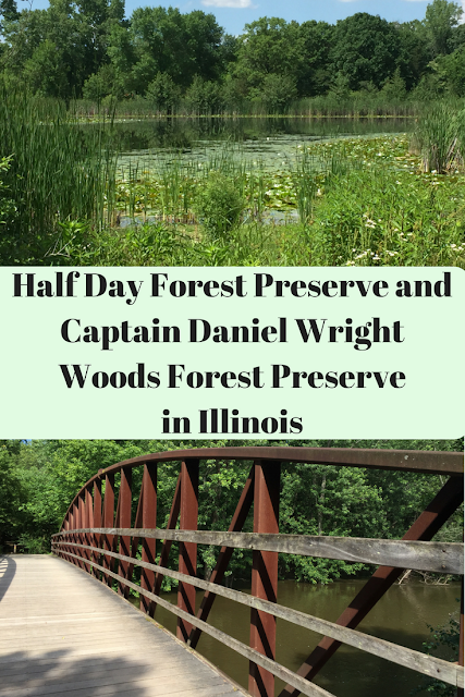 Half Day Forest Preserve and Captain Daniel Wright Woods Forest Preserve
