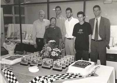 Família van Riemsdijk por ocasião da festa do centenário do CXSP