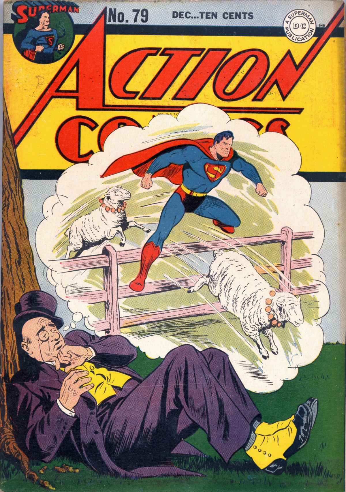 Read online Action Comics (1938) comic -  Issue #79 - 2