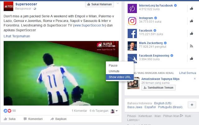 Download Video dari Facebook Dengan Mudah