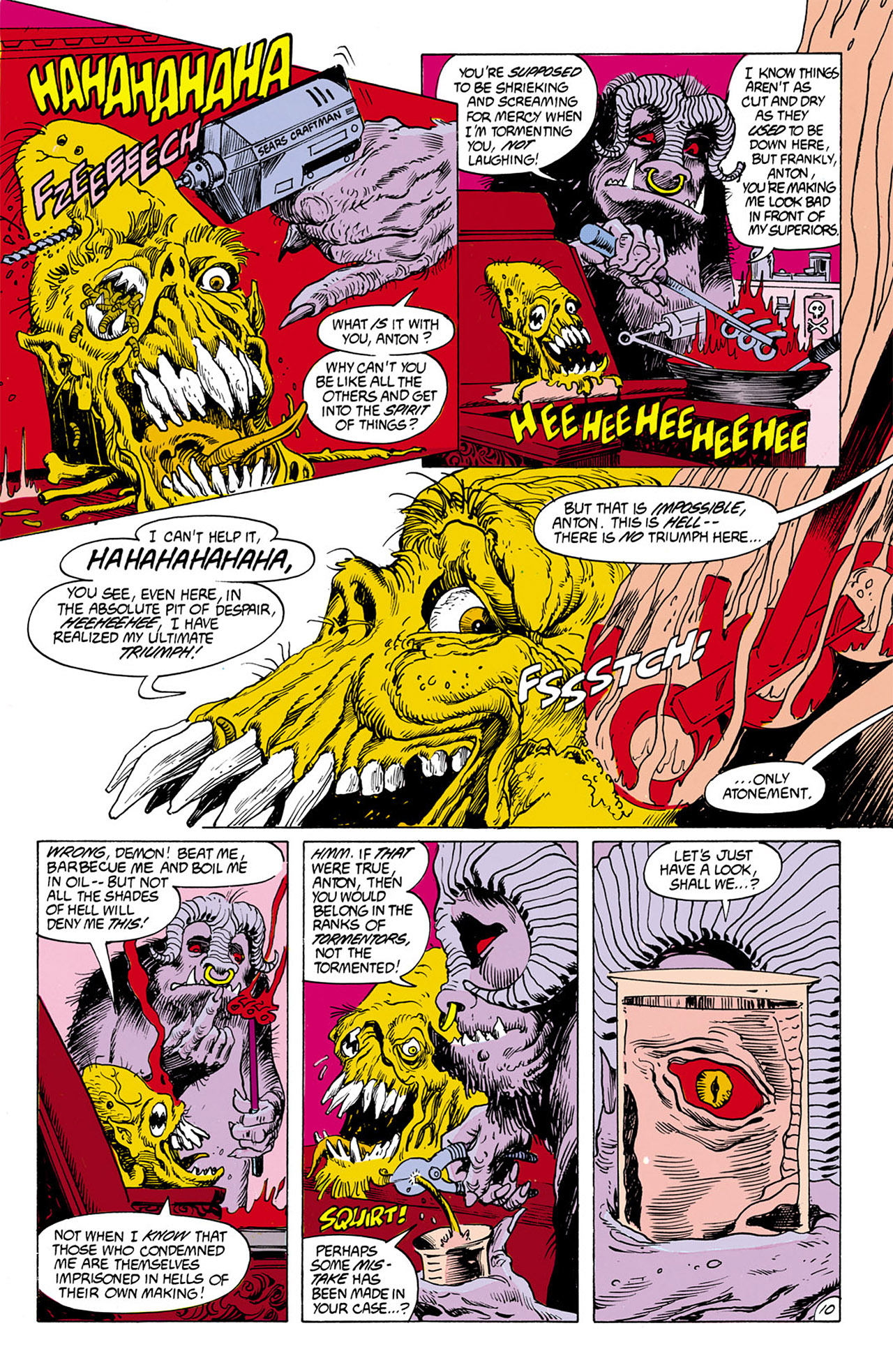 Swamp Thing (1982) Issue #76 #84 - English 10