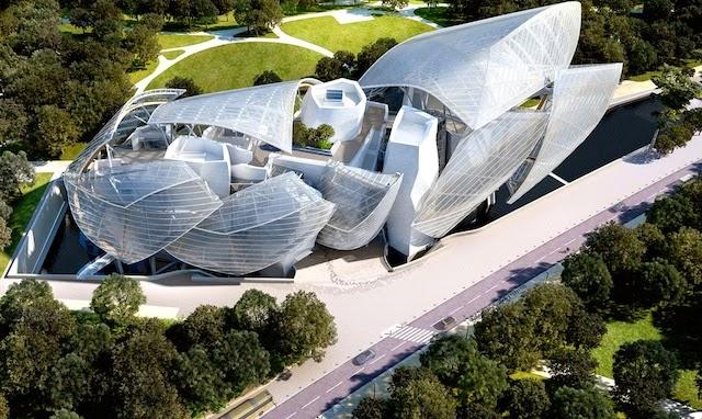 Fundação Louis Vuitton em Paris