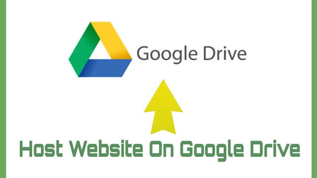 Host Your Website On Google Drive | Free Web Hosting