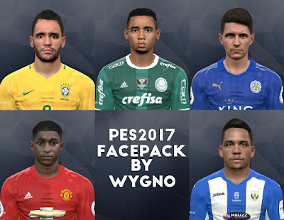 PES2017 1º FACEPACK by Brunowygno