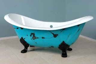 Custom Painted Tub