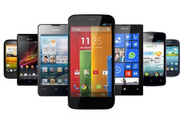 Ponsel smartphone gadget harga termurah di seluruh Indonesia