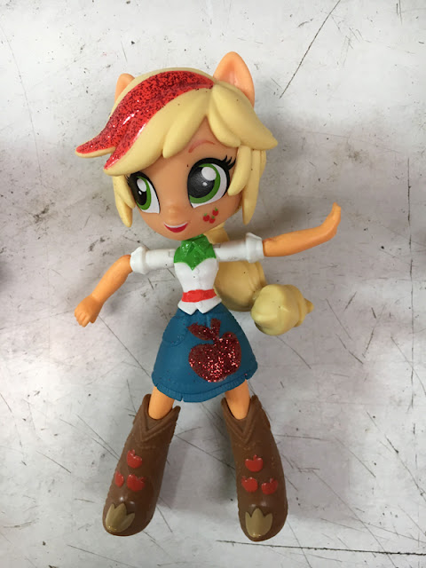 Equestria Girls Mini Glitter Applejack