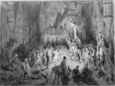 Victor Hugo La cour des miracles dans  Notre-Dame de Paris