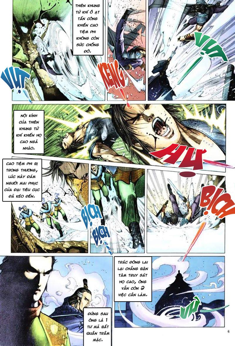 Anh hùng vô lệ Chap 6: Anh hùng hữu lệ trang 6